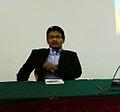 Zahiruddin Zabidi di seminar anjuran kota buku.jpg