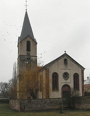 Français : L'église Notre-Dame mixte luthérien...