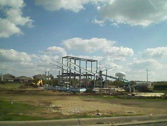 Zero-energy building - Figure 4: Zero-Energy Lab construction on UNT campus in Denton, Texas