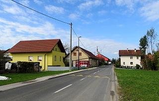 Zgornja Zadobrova Place in Upper Carniola, Slovenia
