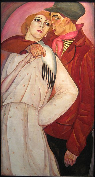 File:Zhigan i prostitutka by B. Grigoriev (1917, priv. coll).jpg