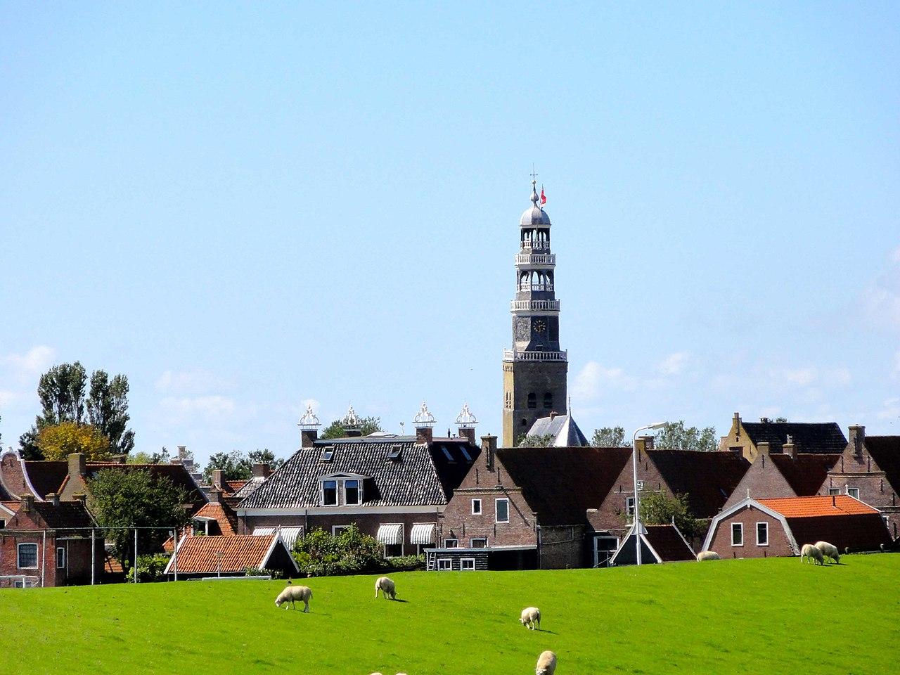 Grote kerk in Hindeloopen