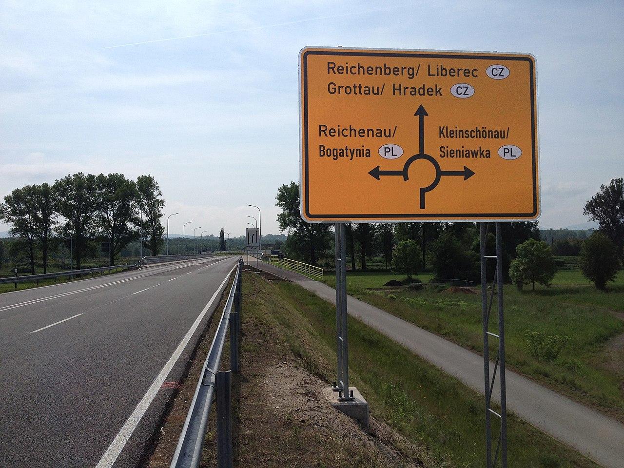 Tschechien Deutschland Grenze