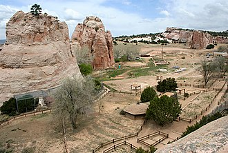 Navajo Nation Zoological and Botanical Park - Zoo grounds