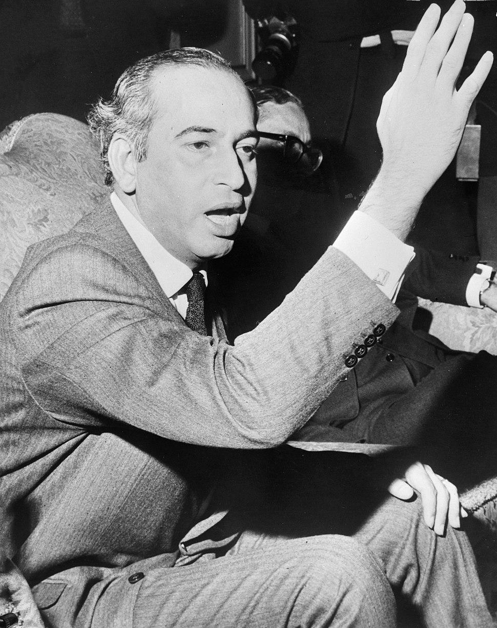 Zulfikar Ali Bhutto 1971