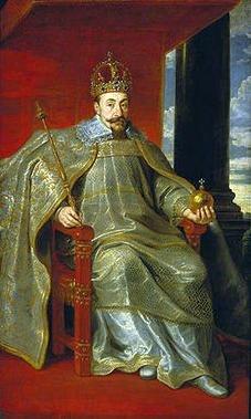 Zygmunt III w stroju koronacyjnym