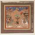 """Rustam Carrying the King of Mazandaran to Kai Kavus"", Folio from a Shahnama (Book of Kings) MET sf20-120-244.jpg"