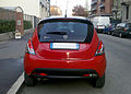 """ 12 - ITALY - Lancia Ypsilong bicolor ( black and red ) in Milan 04.jpg"