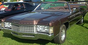 1971 Chevrolet Impala photographed at the Rass...