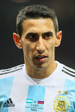Ángel Di María - Di María with Argentina in 2017