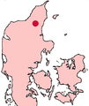 Ålborg Denmark location map.png