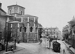 Le centre-ville au début du XXesiècle.