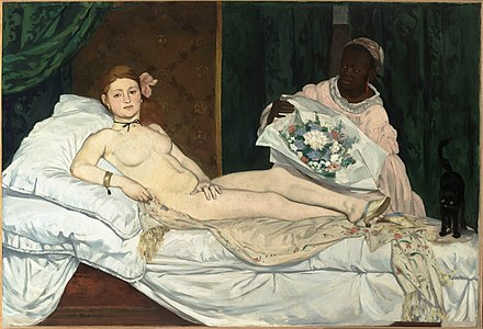 Odalisque painting manet
