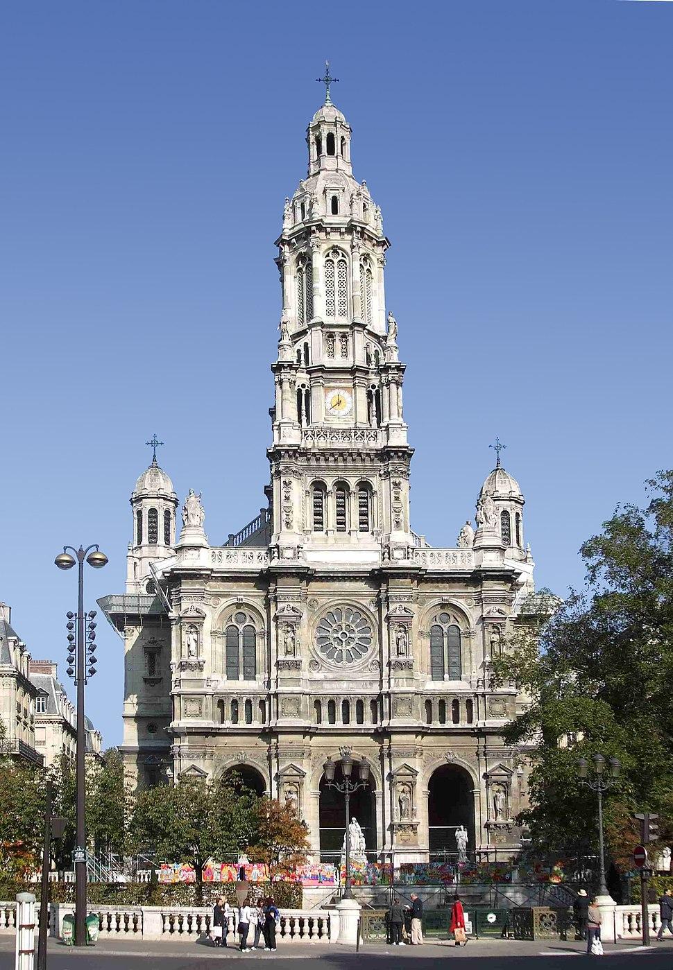 Église de la Sainte-Trinité de Paris Face