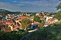 Židovská čtvrt - pohled shora, Třebíč.jpg