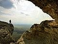 Ак Кая - Белая скала, над обрывом.jpg
