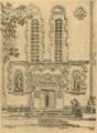 Архитектурне обличчя Полтави. 1919. №2. Манастирь. Портал собору.png