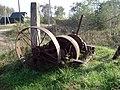 Брашпиль для натягивания паромного троса. Деревня Сытьково - panoramio.jpg