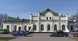 Olevsk - Image: Вокзал станції Олевськ