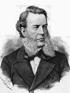 Stepan Gedeonov - Portarait by Pyotr Borel Vsemirnaya Illustratsiya, 1881
