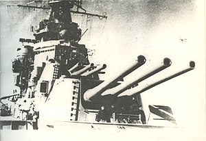 180mm Pattern 1931-1933 - Image: Главный калибр Крейсера Ворошилов
