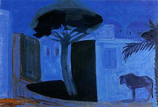 Night Landscape. Egypt