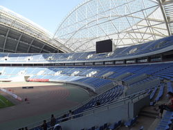 Shenyang Olympic Sports Center Stadium (inside)