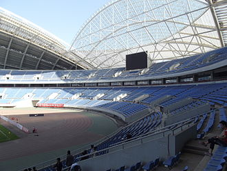 Football at the 2008 Summer Olympics - Image: Олимпийский стадион Шэньян2