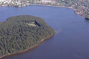 Ochyorsky District - Ocher Pond, in Ochyorsky District