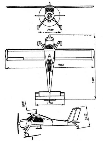 PZL-104 Wilga - Howling Pixel