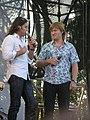 Ревва и Рожков на концерте в Донецке 6 июня 2010 года 005.JPG