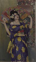 Geisha. Japanese woman