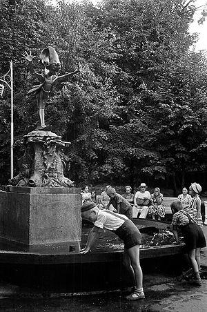 Фонтан «Буратино». 1960-е годы
