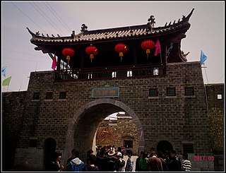 Sanhe, Feixi County Town in Anhui, Peoples Republic of China