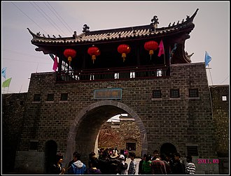 Anhui - the old town of Sanhe, Feixi County