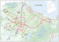 宁波轨道交通2020年线网方案图 - 2015规划.jpg