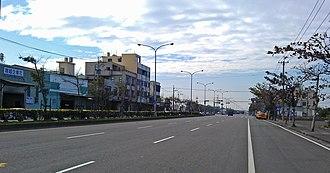 Wuqi District - Image: 臺中市臨港東路