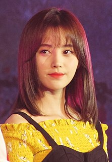 Ju Jingyi Chinese singer and actress