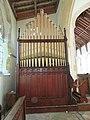 -2018-12-10 Pipe organ, Saint Margaret of Antioch parish church, Suffield, Norfolk (2).JPG