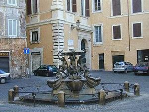 Fontana delle Tartarughe - Piazza Mattei and the Fontana delle Tartarughe