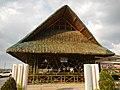 0164jfChurch San Isidro Holy Cross Halls Roads Caloocan Cityfvf 07.JPG