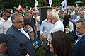 02019 0312 (2) Rechte Demo der Unterstützung für die homophobe Predigt von Erzbischof Marek Jedraszewski, Terlecki, Sakiewicz.jpg