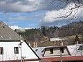 035 Prachatice ul. Mlýnská pohled na lom Kobylí hory.jpg