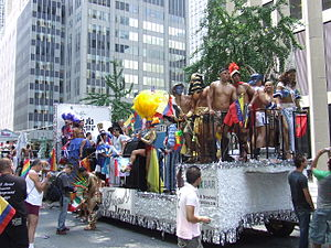 English: Annual New York City LGBT Pride parad...