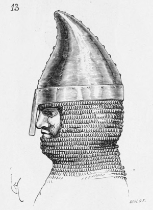 Nasal helmet - Nasal helmet of the 'Phrygian cap' shape, 12th century