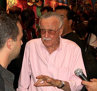 Stan Lee - Lee promoting Stan Lee's Kids Universe at the 2011 New York Comic Con