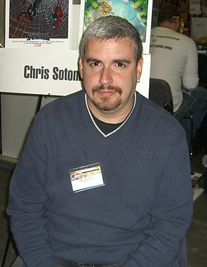 Chris Sotomayor - Sotomayor at the Big Apple Convention in Manhattan, October 17, 2009.