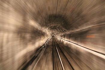 100 Jahre Jungfraubahn - Im Tunnel in der Eigernordwand, Berner Oberland.JPG