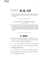 116th United States Congress H. R. 0000127 (1st session) - CARERS Act of 2019.pdf