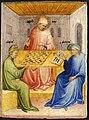 11 Nicolo di Pietro. Saint Augustin et Alypius reçoivent la visite de Ponticianus 1413-15 Musée des Beaux-Arts, Lyon.jpg